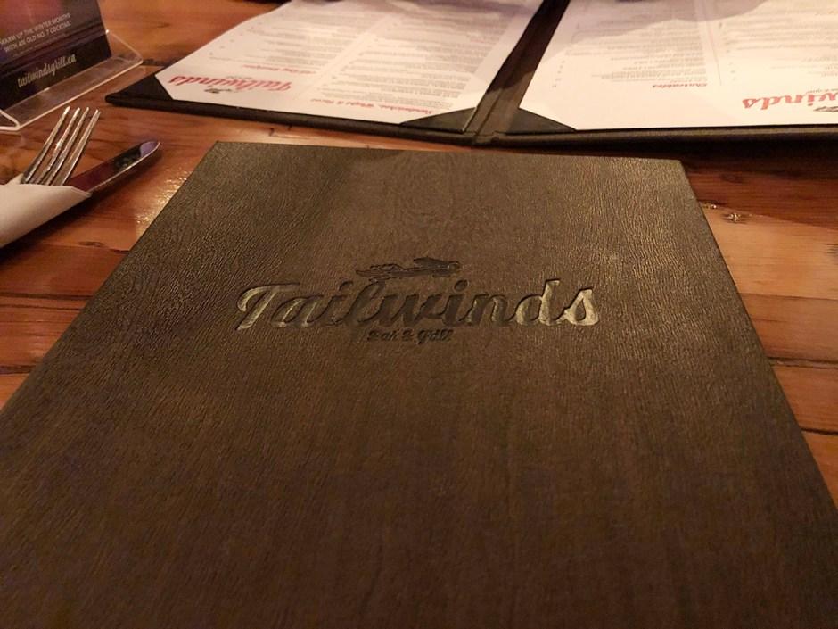 Tailwinds menu