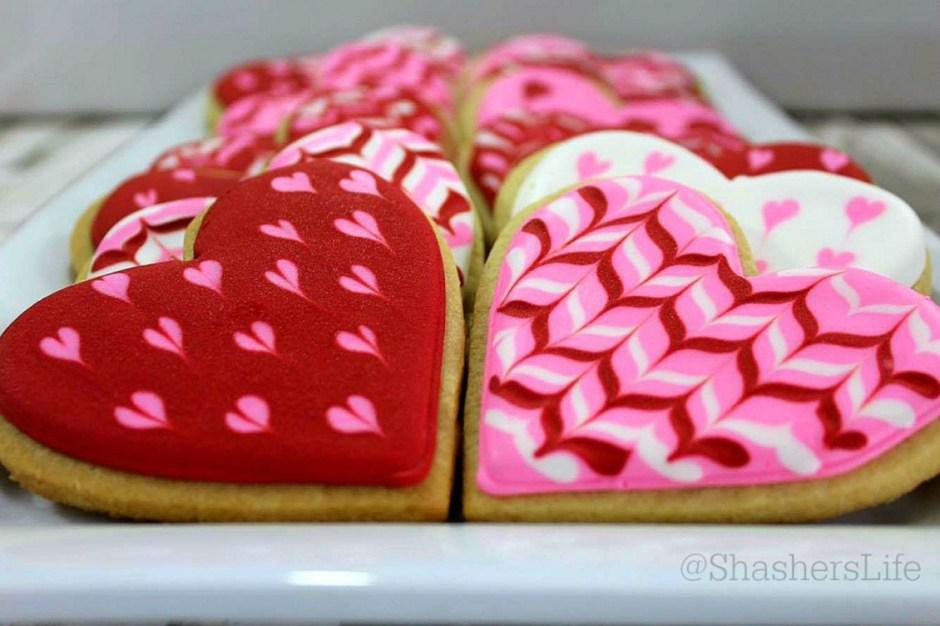 Valentines Day 10 valentines cookies