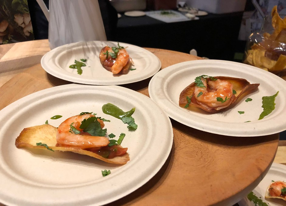 taste of burlington familia fine foods shrimp