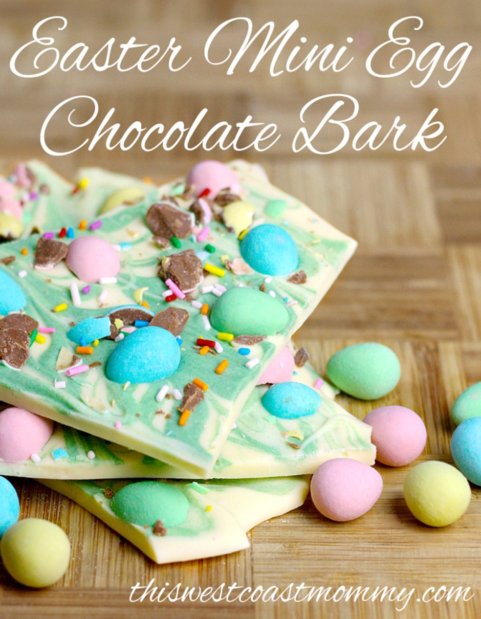 2019 Easter Treats 02 Easter Mini Egg Chocolate Bark