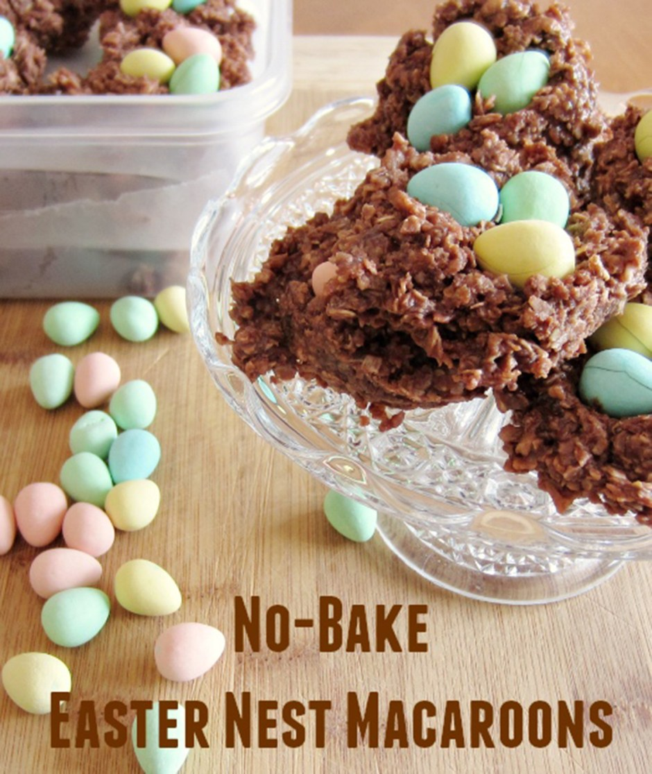 2019 Easter Treats 05 Easter Egg Nests