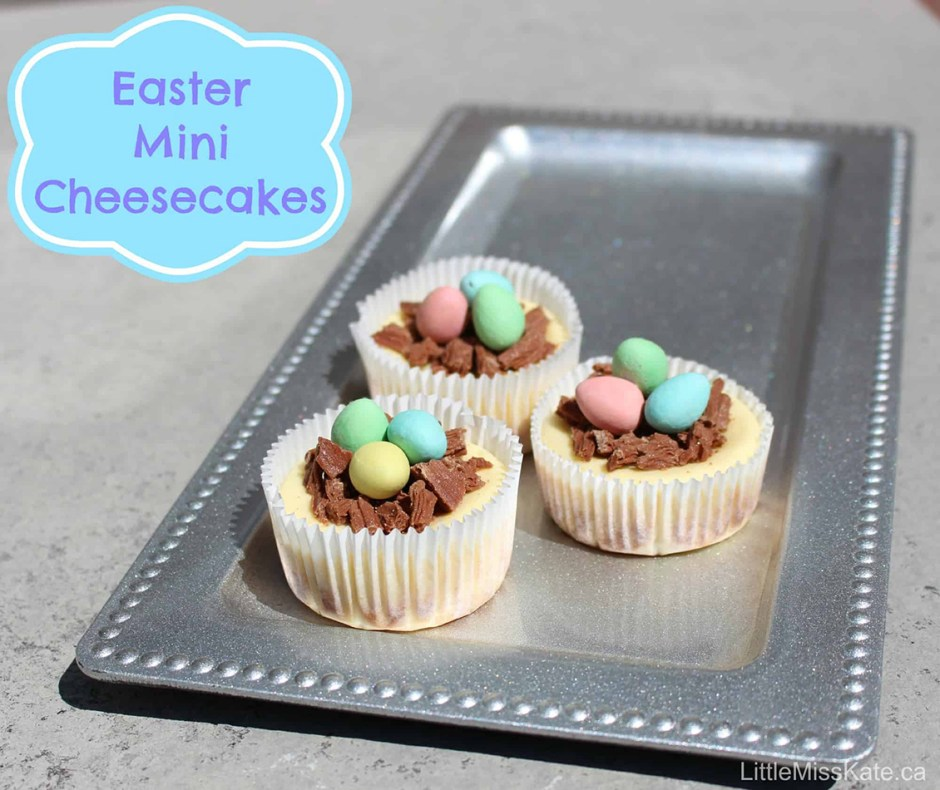 2019 Easter Treats 07 Easy Mini Cheesecake