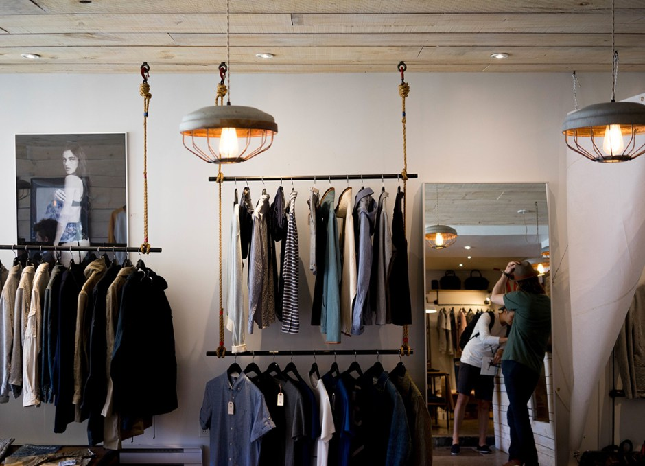 clothing store business