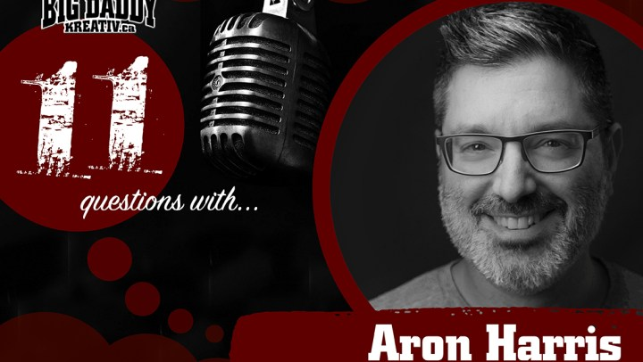 11 Questions with… Aron Harris. @dadrockdad #bdk11Qs