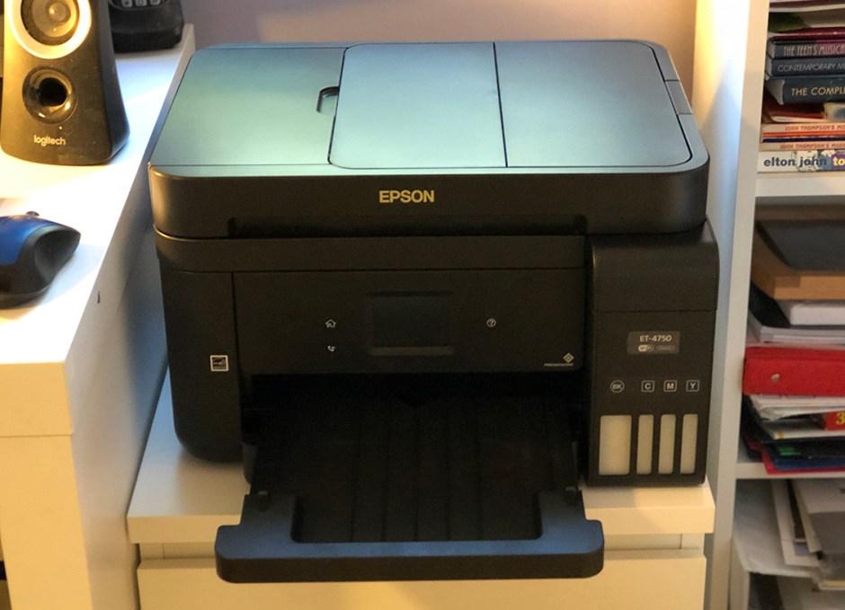 Epson WorkForce ET-4750 EcoTank printer