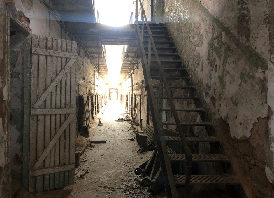 things to do in philly crumbling cell block