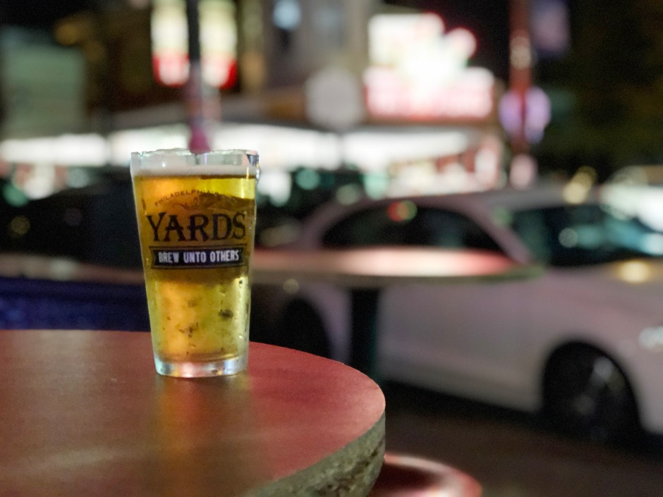 Raise A Glass South Philly Bar and Grill Beer On Patio