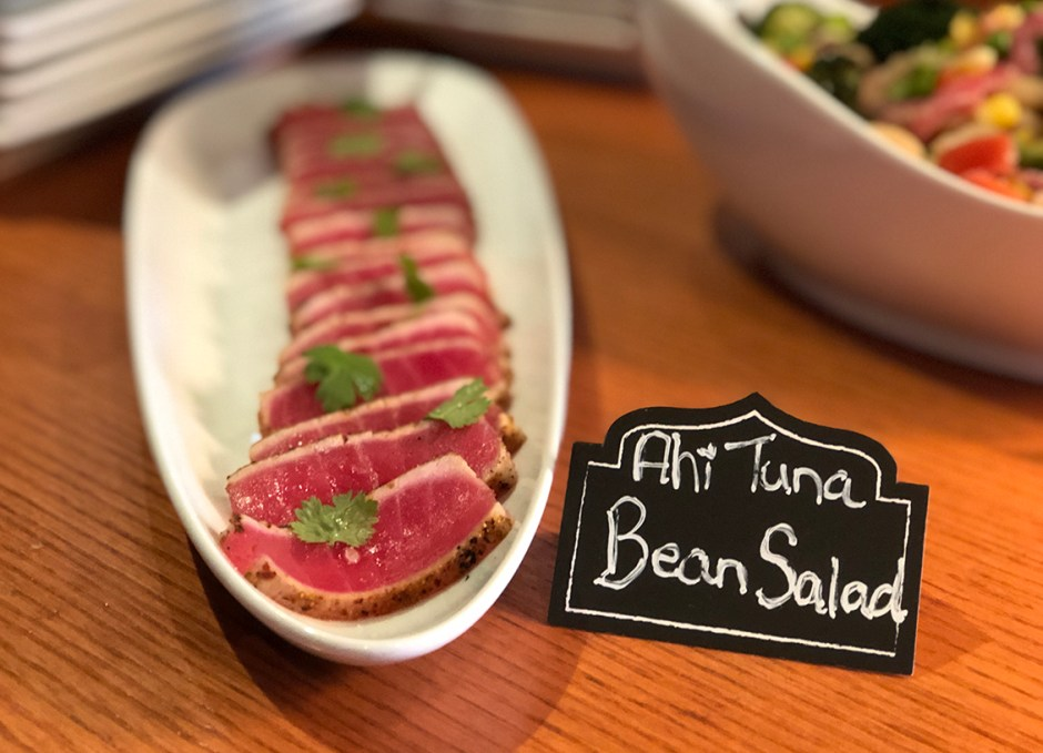 Taste Of Burlington Canyon Creek ahi tuna bean salad