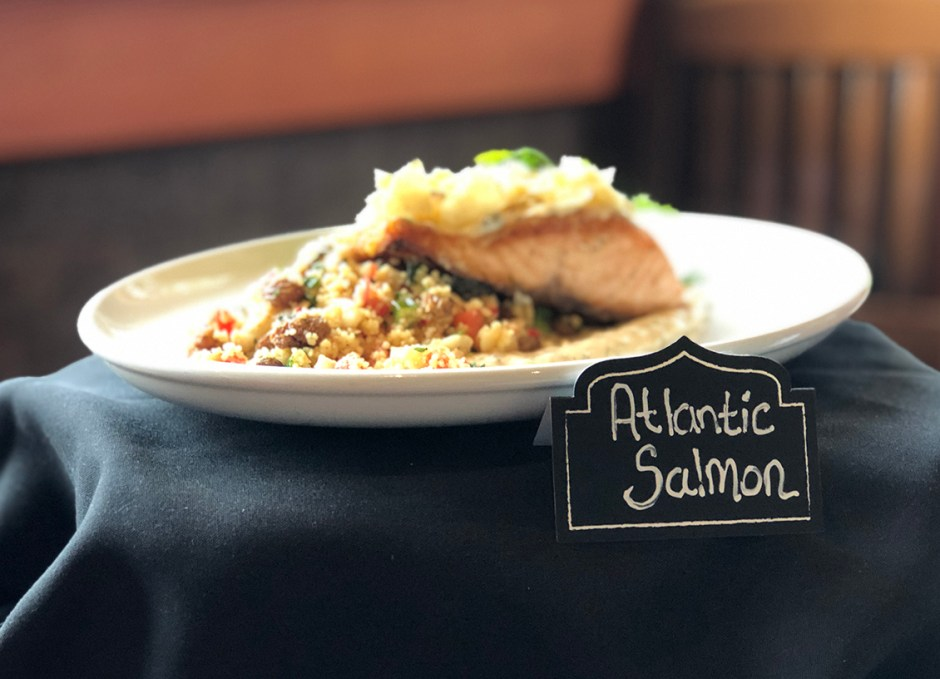 Taste Of Burlington Canyon Creek atlantic salmon