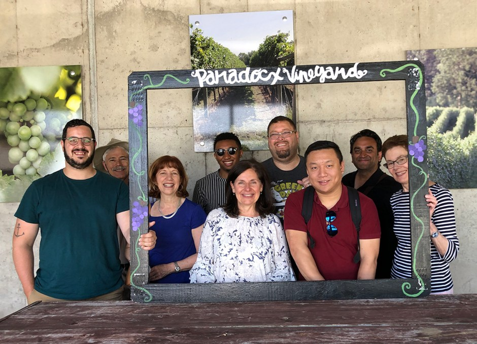 paradocx vineyard group shot with frame