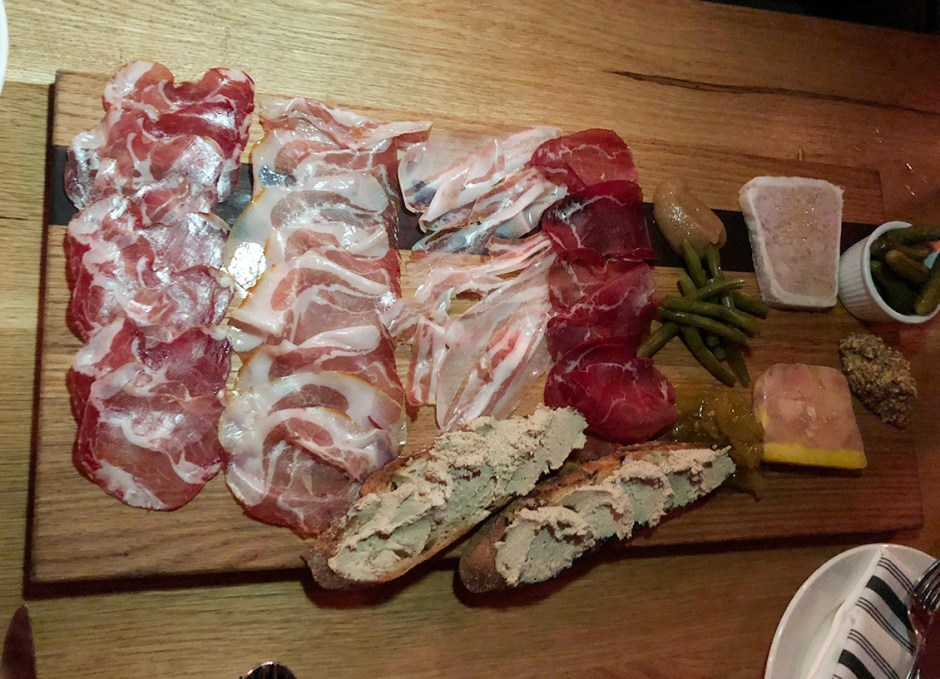 royal boucherie charcuterie board