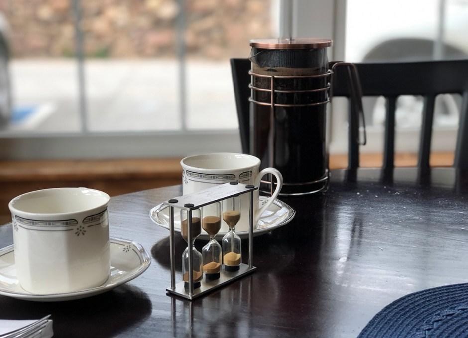 seasoned french press coffee