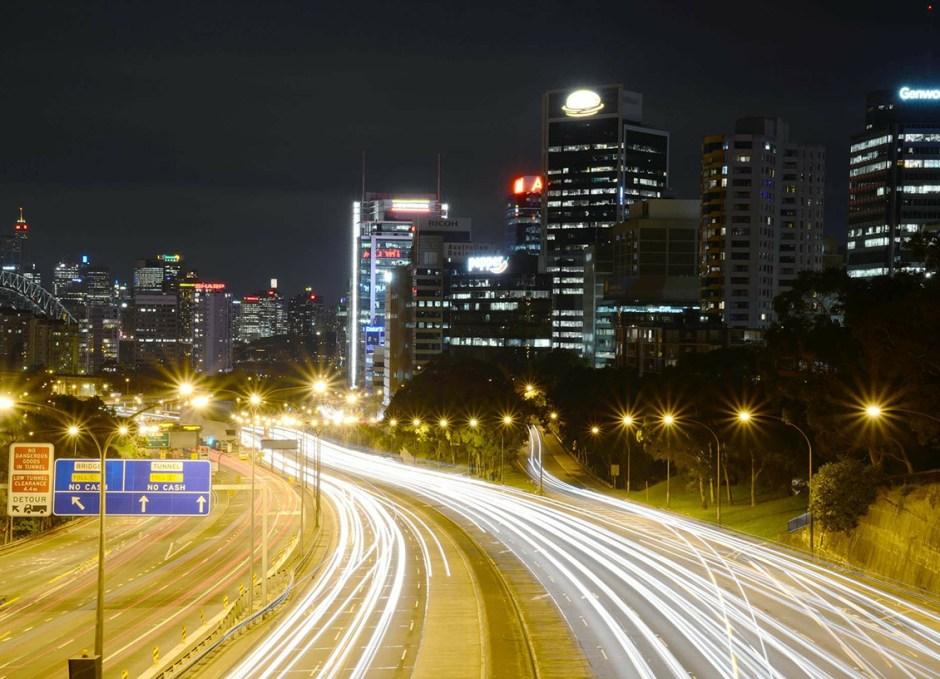 north sydney australia traffic