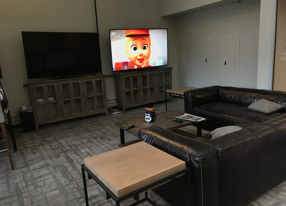 ridgeline entertainment area