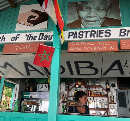 Beachside Dining at Madiba Beach Café in Portsmouth Dominica #ad #BDKDominica #DiscoverDominica
