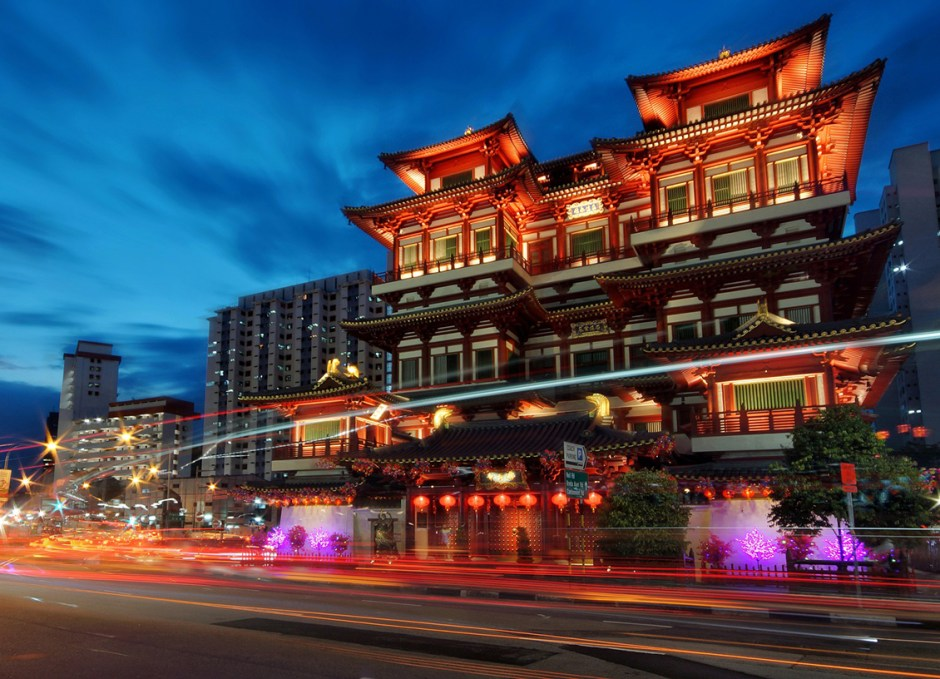 singapore buddha tooth relic temple chinatown