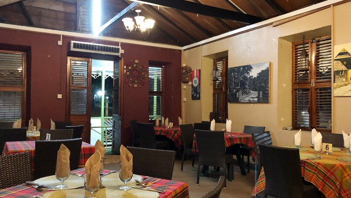 Upscale Dining at The Great Old House Restaurant in Dominica #ad #BDKDominica #DiscoverDominica