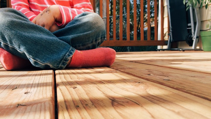 Why does my deck stain keep peeling?