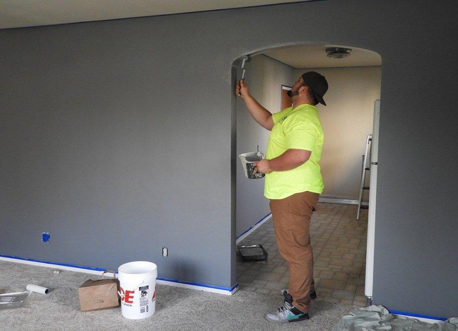 Renovate painter