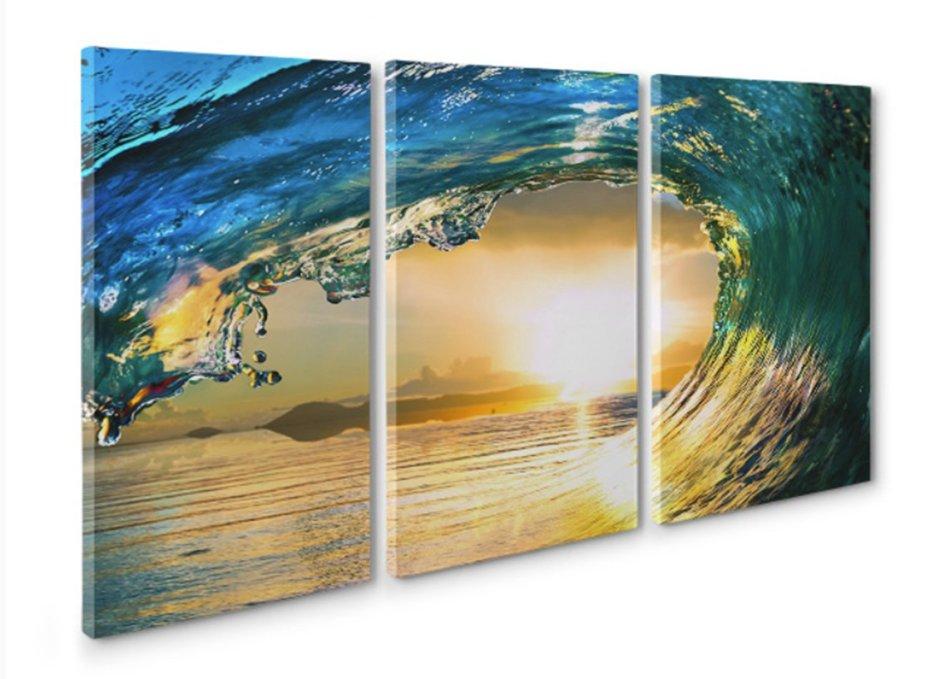 Canvas Prints Online 3 frame canvas photo