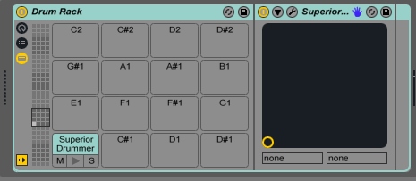 Assignments in Ableton Live