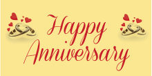 Anniversary Banner - Yellow