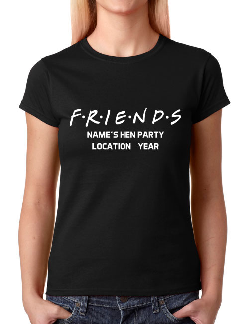 Hen T-Shirts - Friends