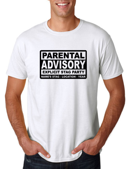 Stag T-Shirts - Parental Advisory