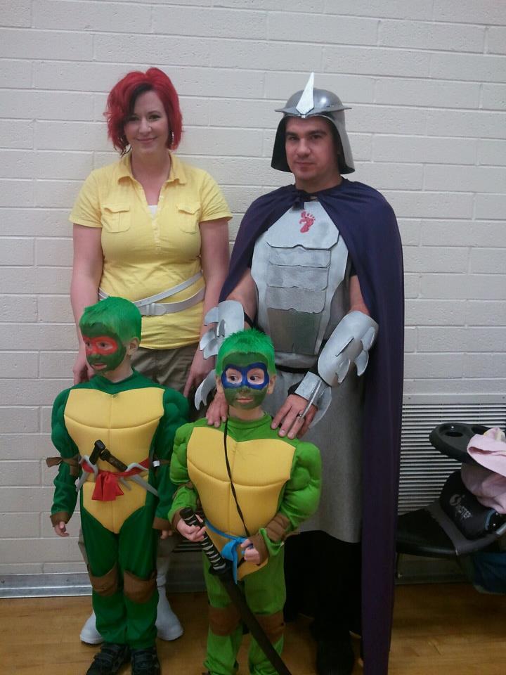 Family TMNT Halloween Costumes
