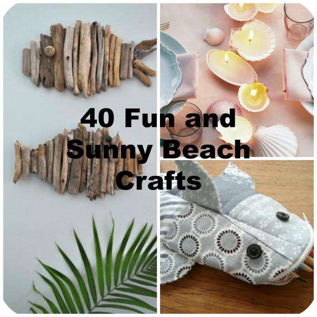40 Easy Beach Craft Ideas To Make This Summer