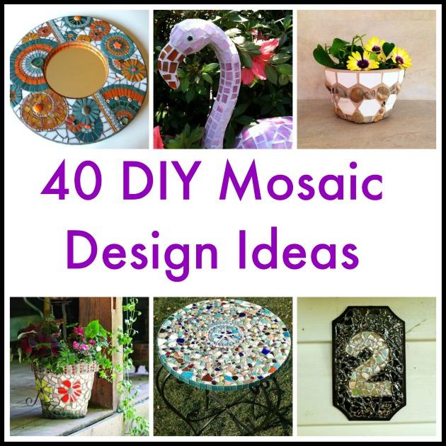 40 diy mosaic design ideas with tile