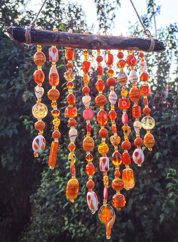 Glass Bead Wind Chime