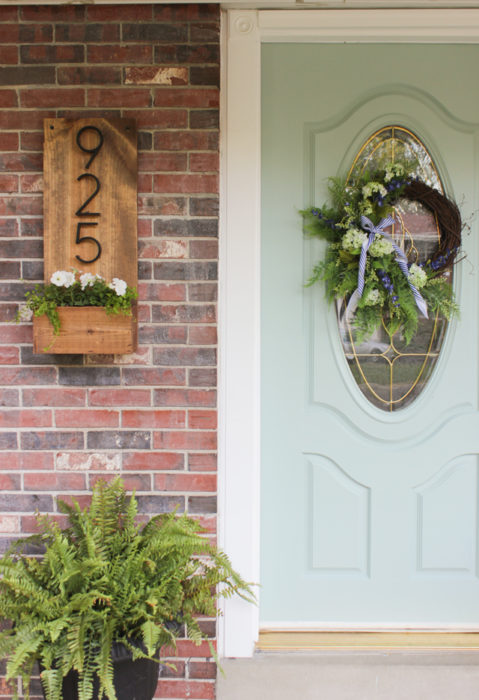 40 Diy House Number Project Ideas