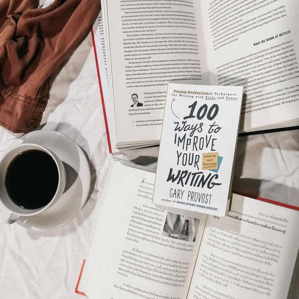 รีวิว 100 ways to improve your writing review