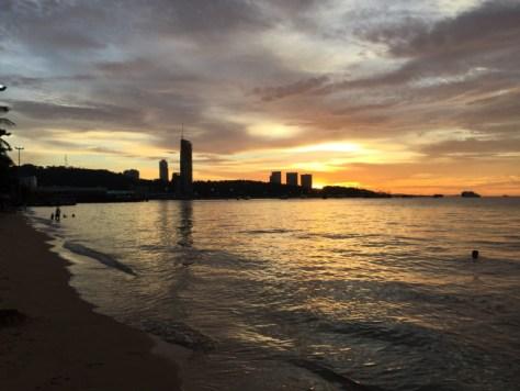pattaya sunset