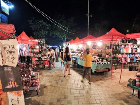 vientiane gece pazarı