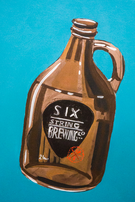 Big Family Little income Six String Brewing Co-14