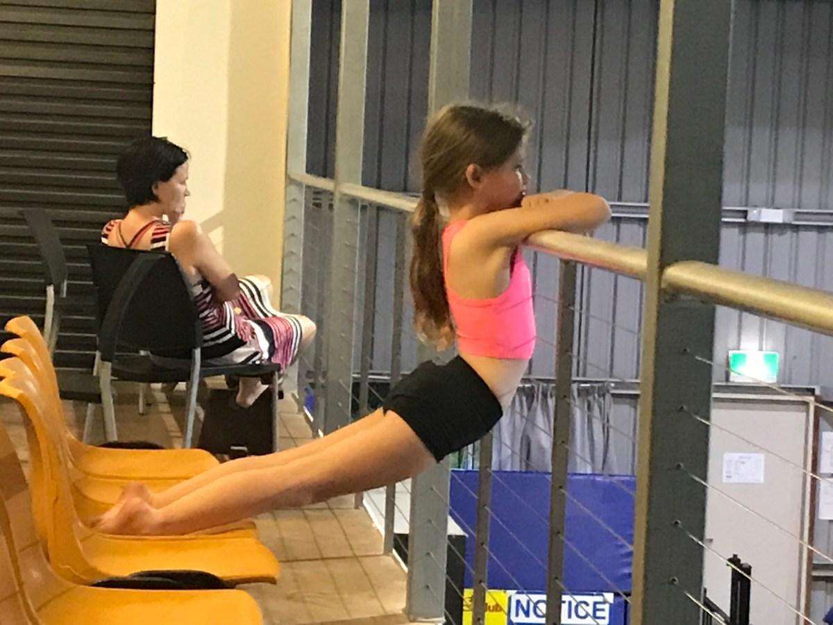 Big Bad Gymnastics Dad