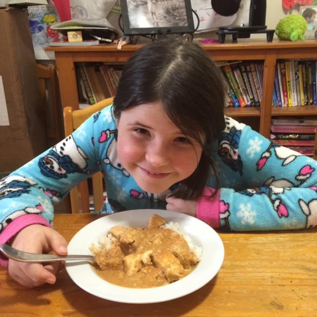 Cassie's Kid Friendly Butter Chicken