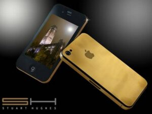 gold iPhone 4G