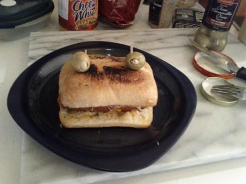 friendly merguez sandwich