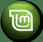 linux mint logo button
