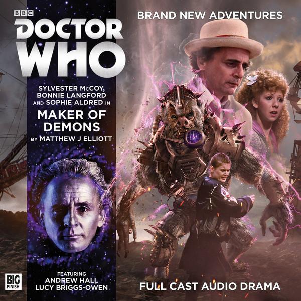 Doctor Who: Maker of Demons Cover