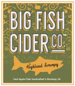 Big Fish Cider Co. Highland Scrumpy label