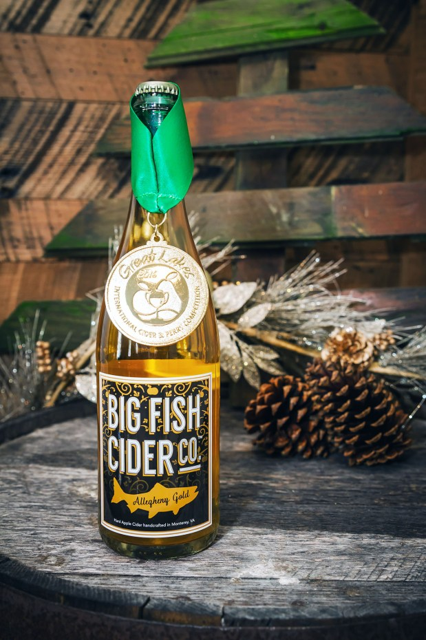 Our award winning Alleghany Gold cider