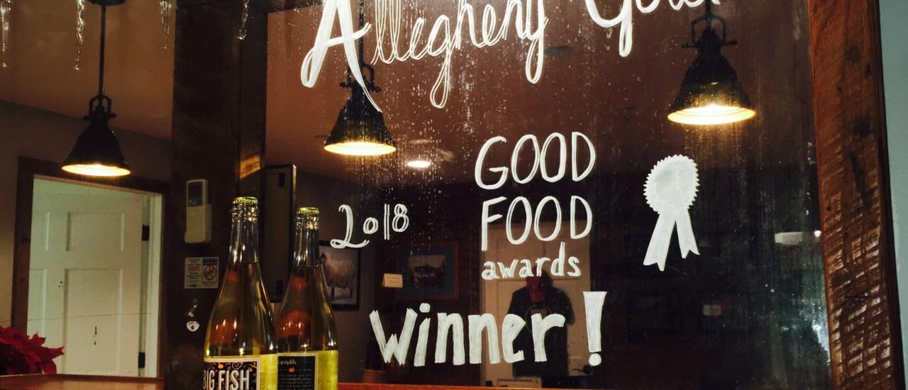 Good Food Awards 2018 Winner!