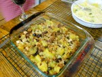 Veggie night: Sweet potato dressing