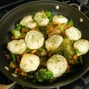 Recipe: Skillet Chicken with Biscuit Dumplings