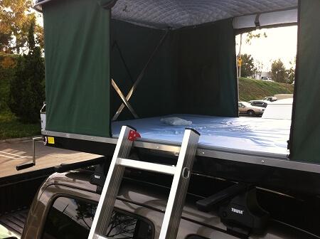 Explorer Series Hard Shell Roof Top Tent BlkGrn