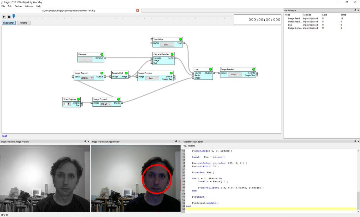Fugio Friday: OpenCV, dlib, and Video Capture